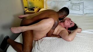Amateur MILF Becky Tailor tag teamed missionary by hubby and HUGE bbc